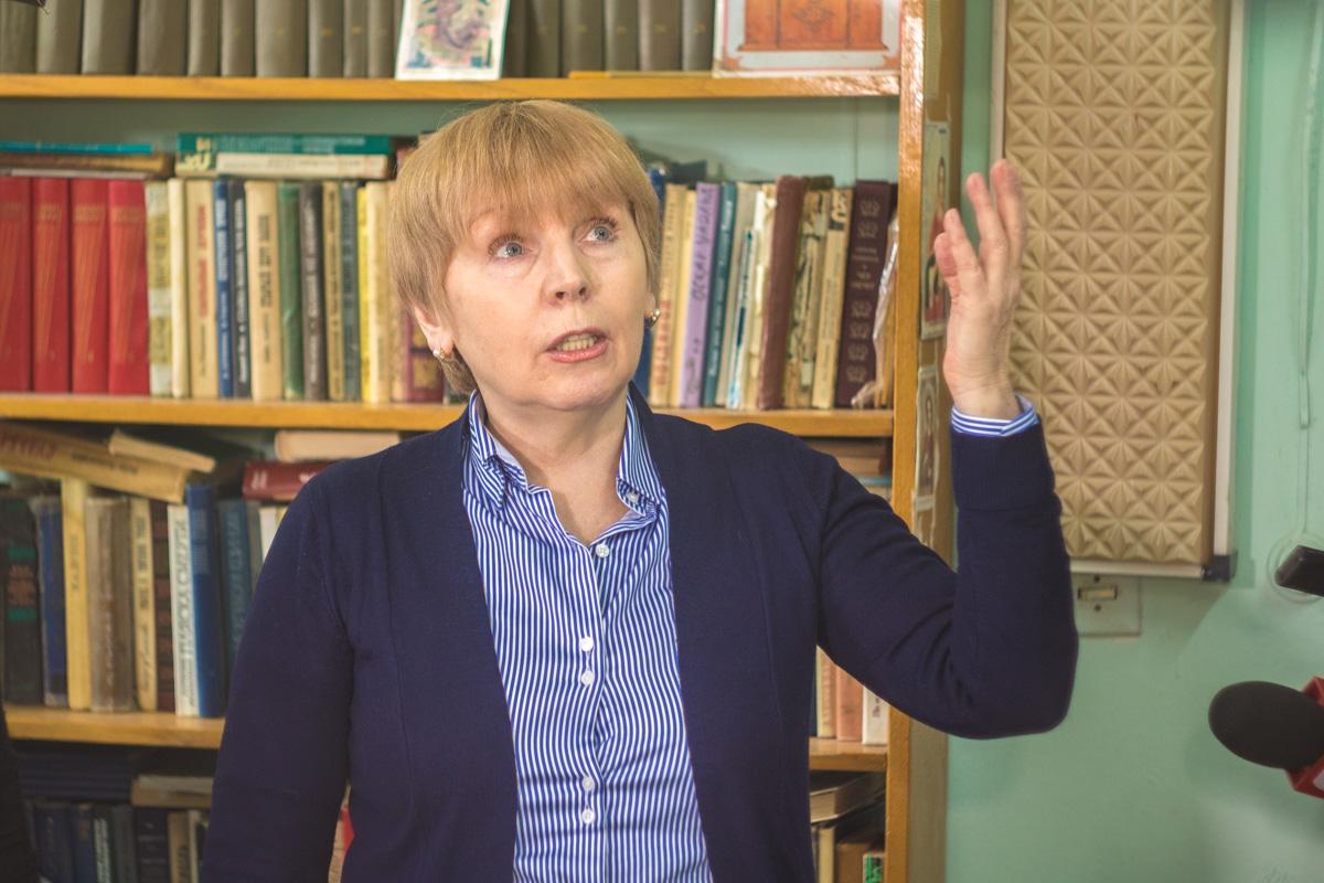 Валентина Юрчишина рассказала о проблемах отделения