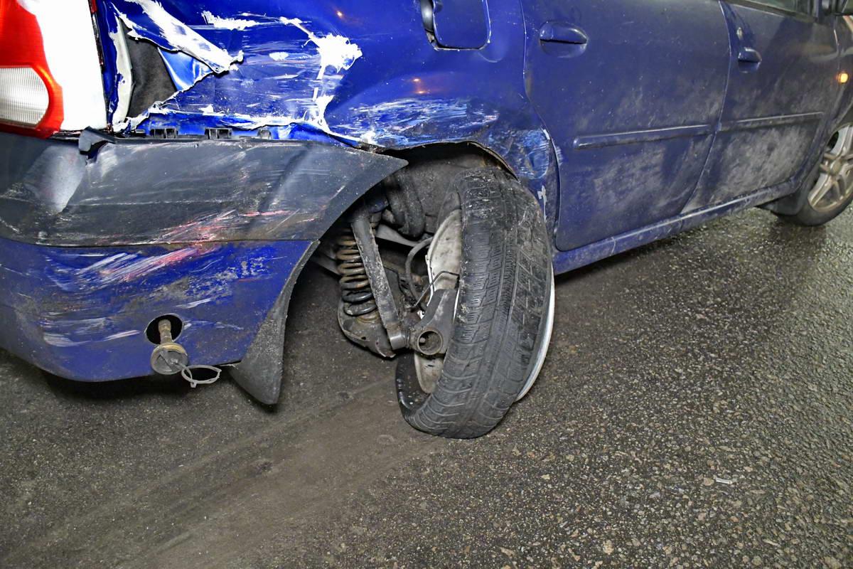 К счастью, водители травм не получили