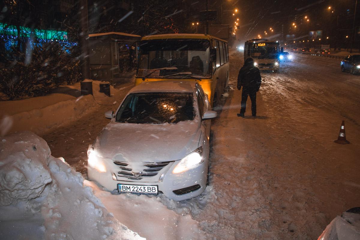 На бульваре Дружбы Народов произошло ДТП