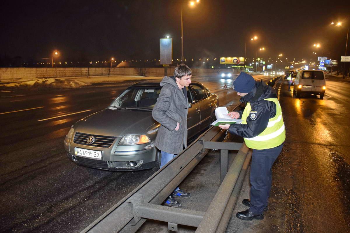 Водитель Passat сразу вызвал скорую помощь