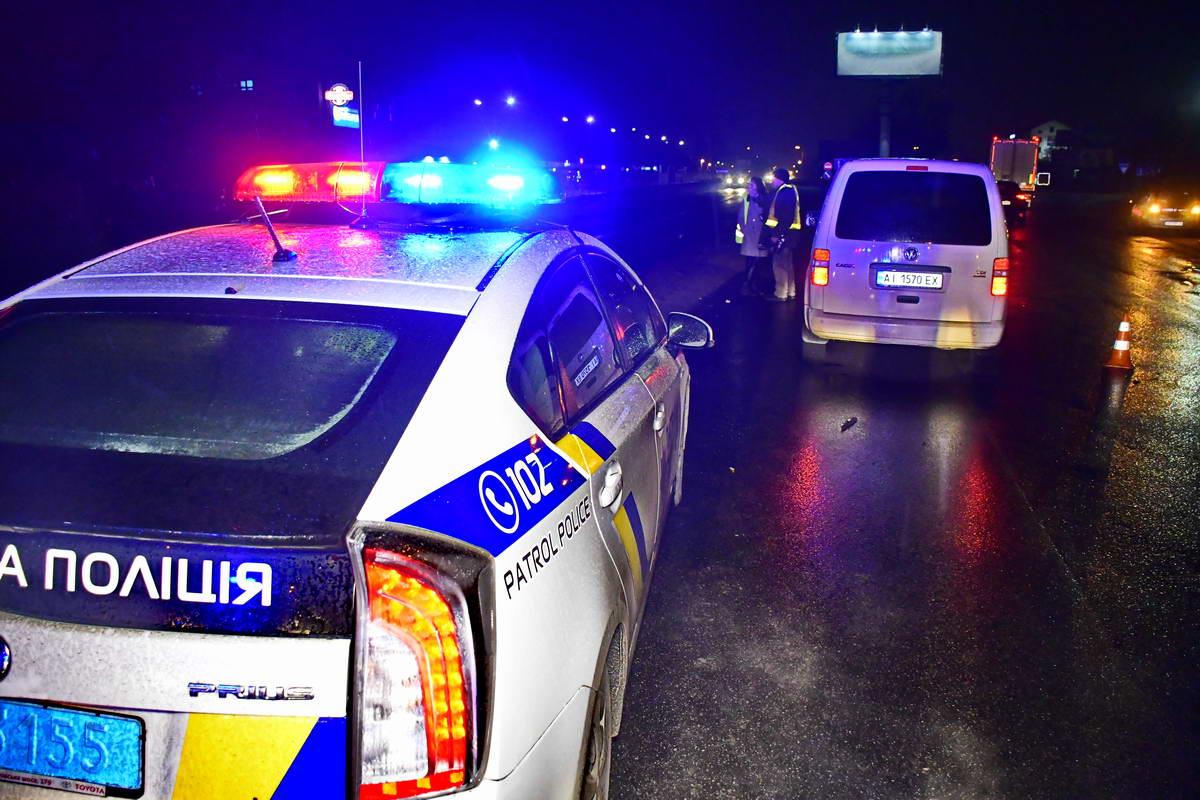 Патрульная полиция и водительVolkswagen от комментариев отказались