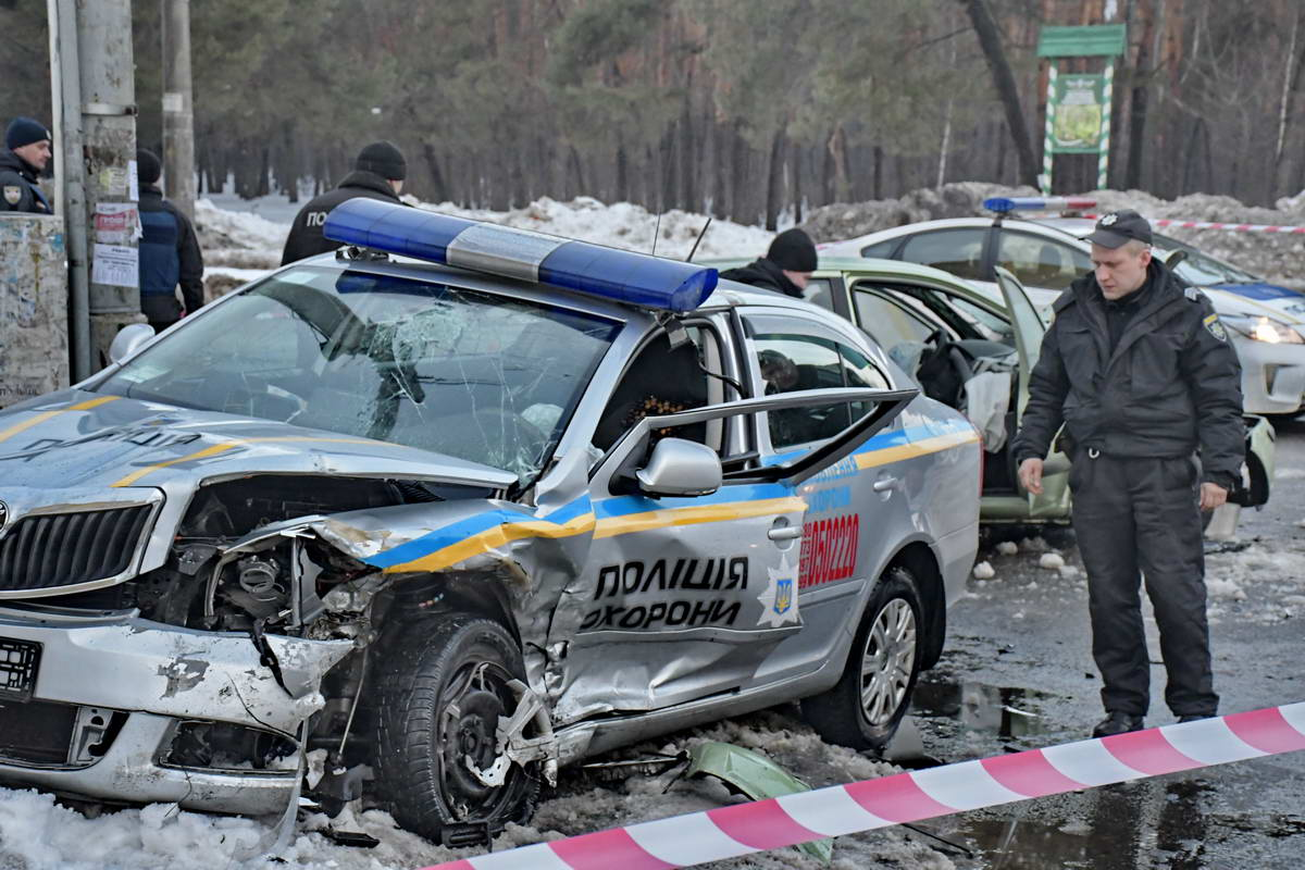 Сотрудники Полиции охраны в реанимации