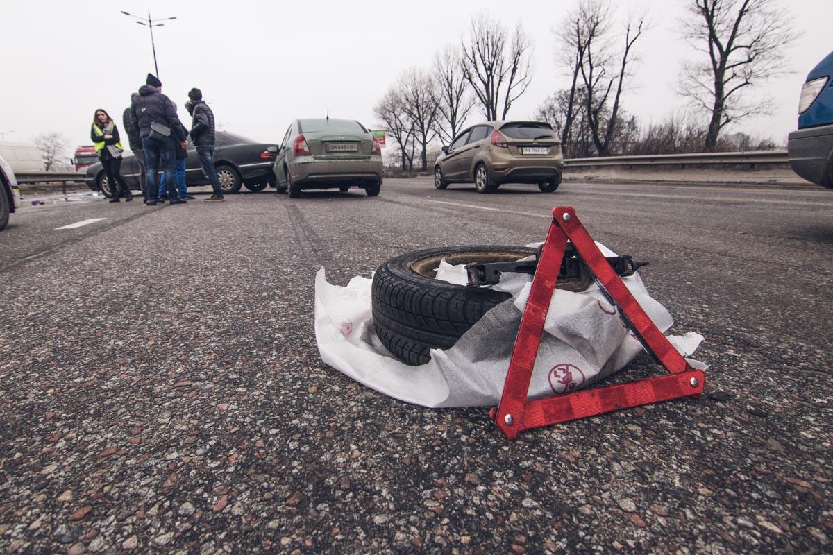 Все участники происшествия двигались со скоростью 50-60 километров в час