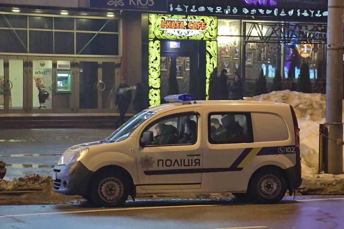 Зачинщика заломали полицейские