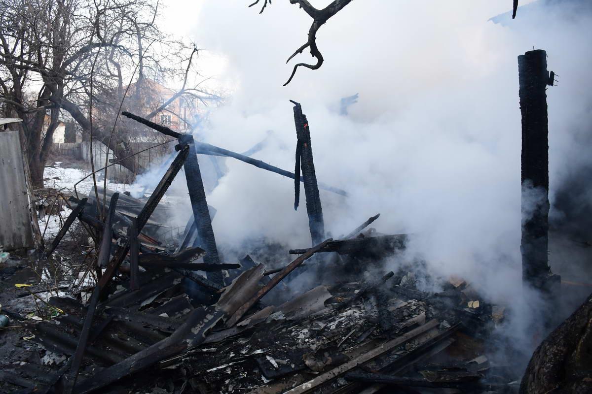 По словам хозяйке дом подожгли