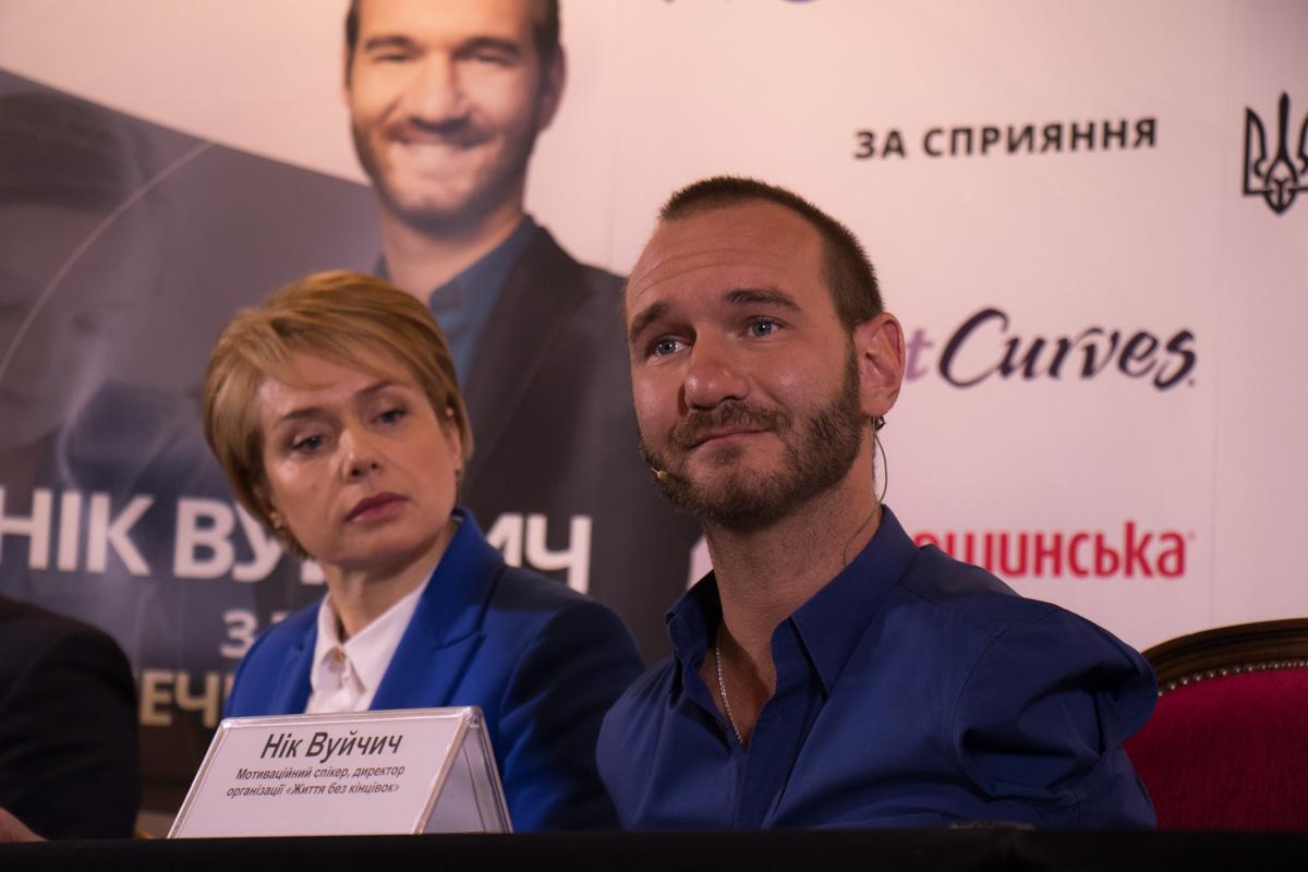 Ник Вуйчич рассказал, как смог побороть издевательства в школе