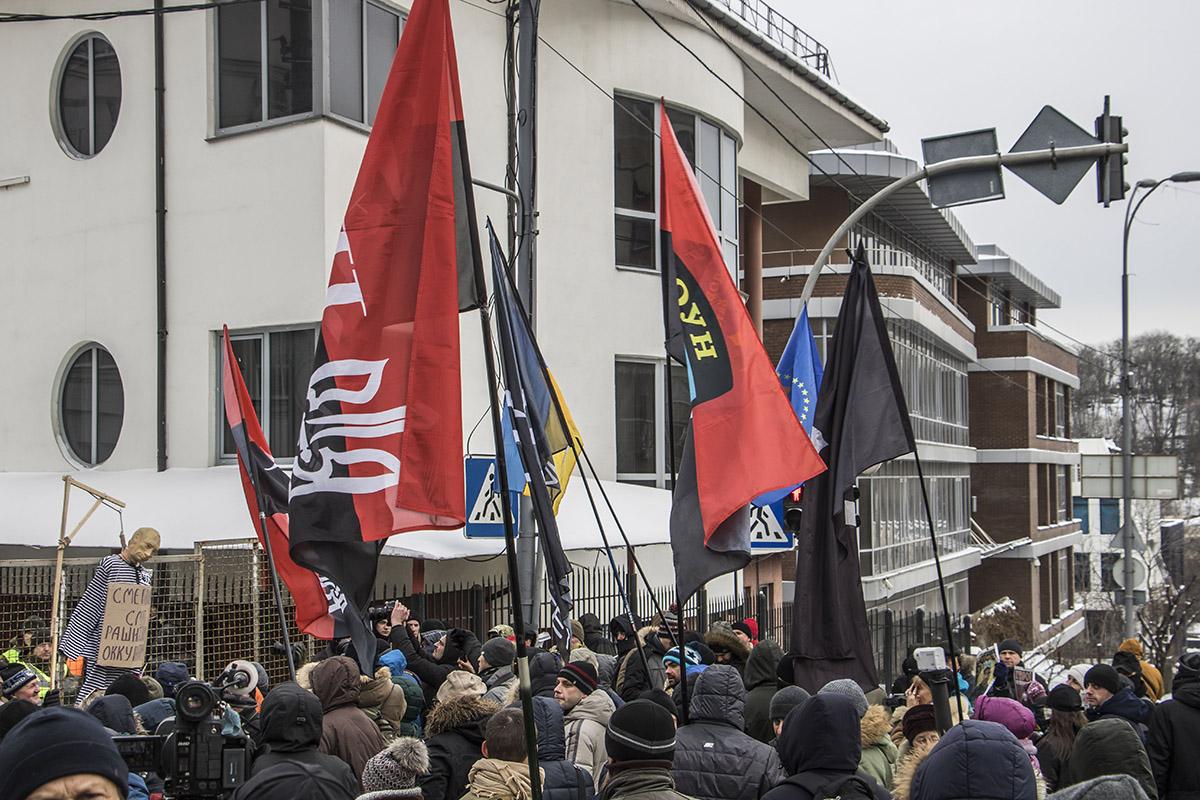 Среди участников - члены добровольческого движения ОУН, Комитета освобождения политзаключенных, Черного Комитета, Правого сектора