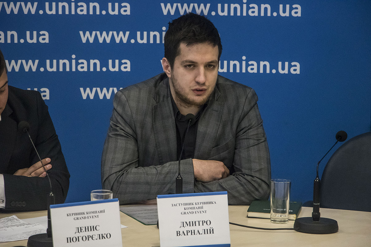 Заместитель руководителя компанииGrand Event Дмитрий Варналий