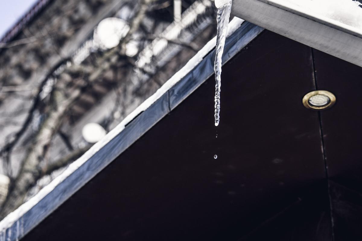 Скоро ледяная красота превратится в лужи