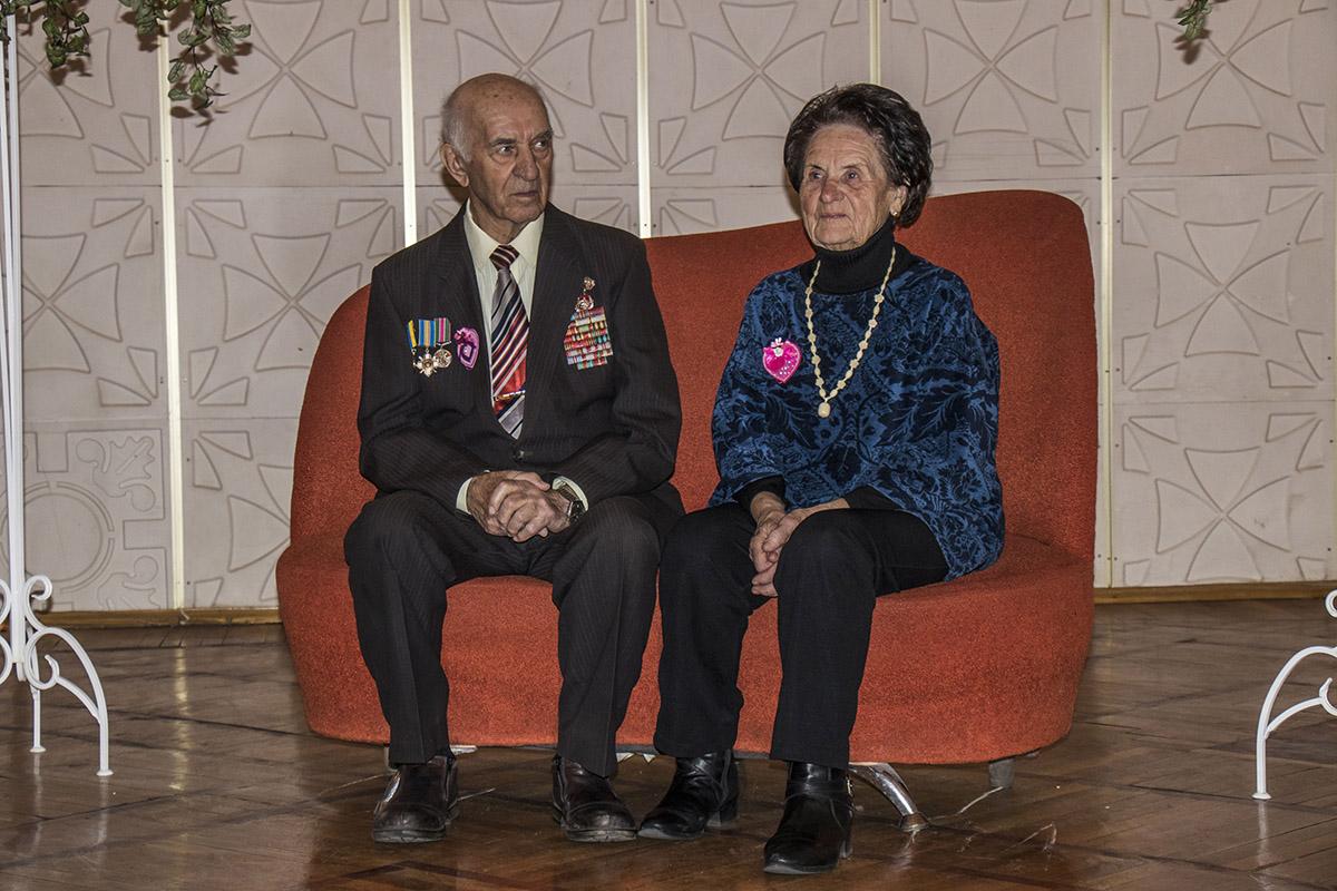 Супружеской паре было приятно внимания к их юбилею