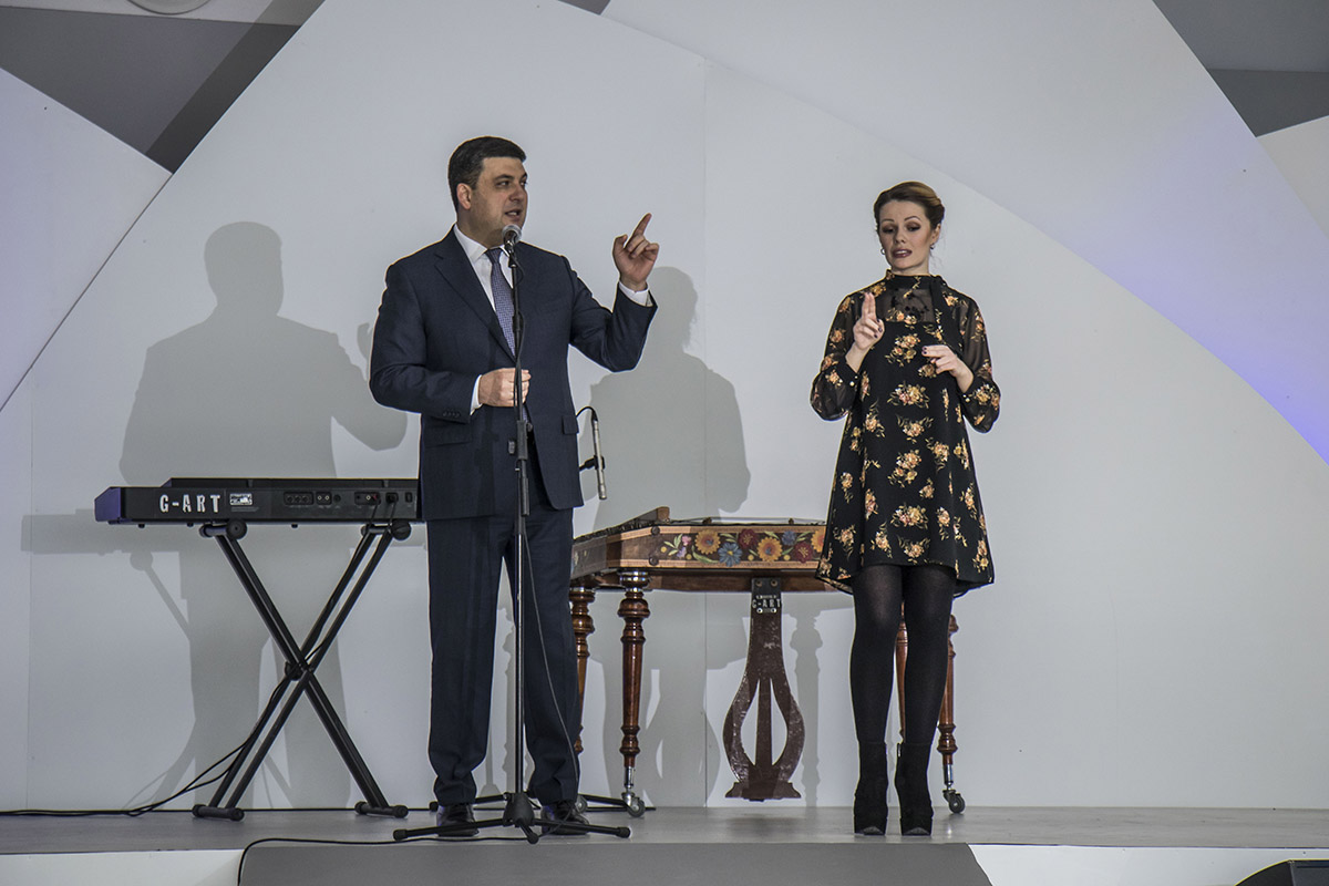 На торжестве присутствовал Владимир Гройсман