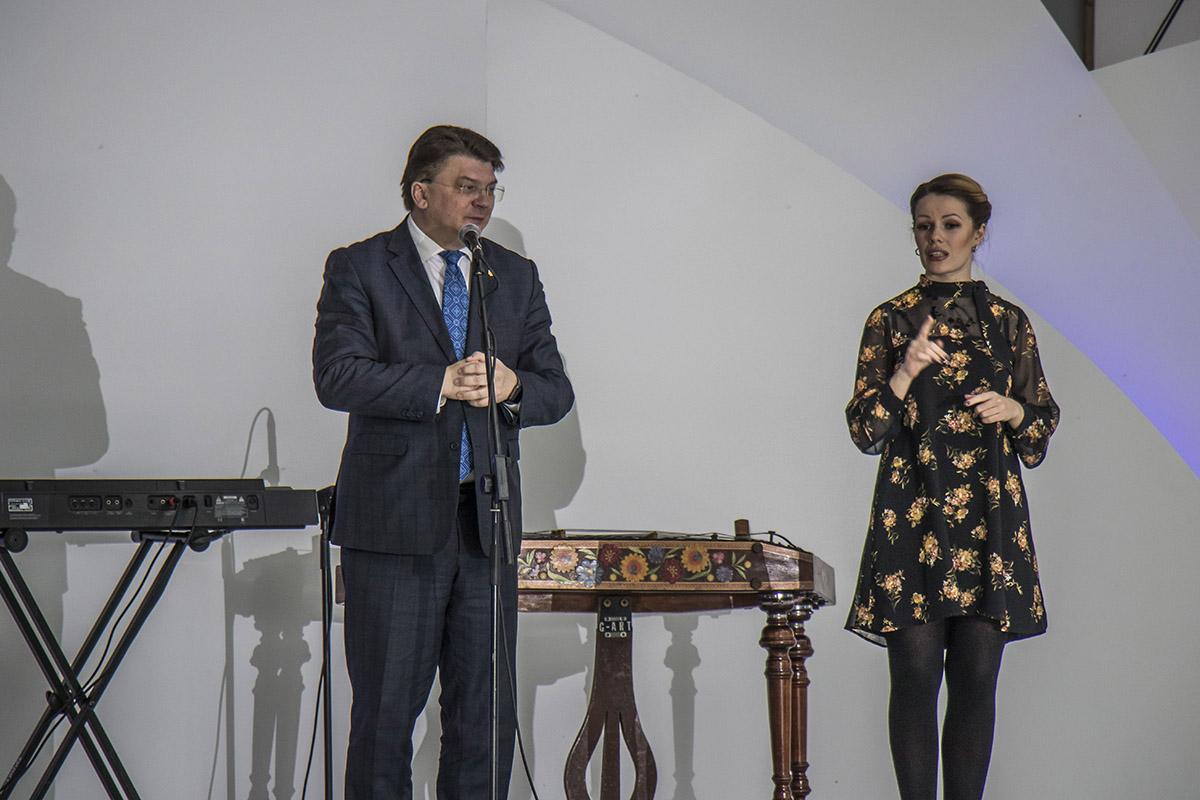 Также мероприятие посетил Игорь Жданов