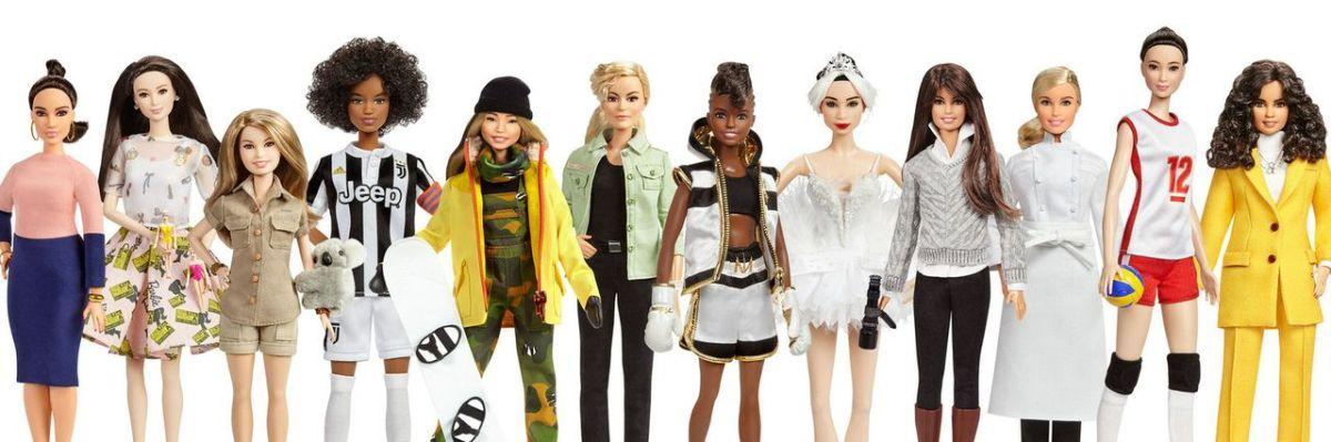 """В линейку """"Вдохновляющие женщины"""" вошли 17 новых кукол Барби"""