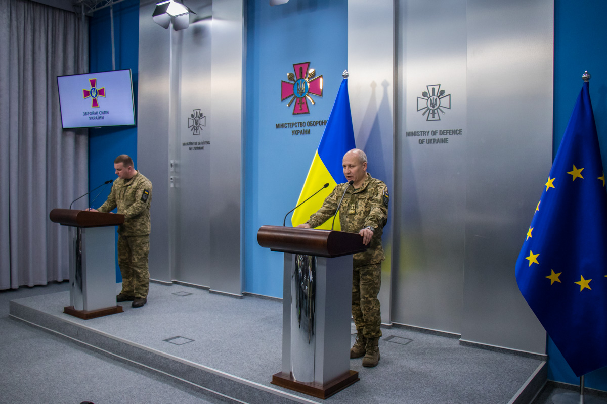 В Генеральном штаба Вооруженных Сил Украины прошел брифинг на тему весеннего призыва 2018 года