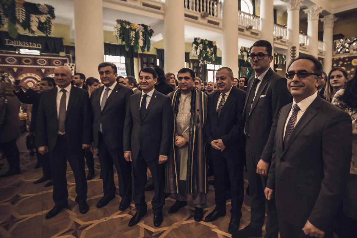Мероприятие посетили посетили главы дипломатических миссий и международных организаций