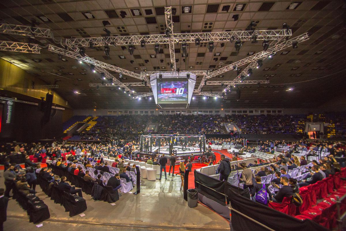 В это время в Дворце спорта проходил Международный профессиональный турнир по смешанным единоборствам ММА