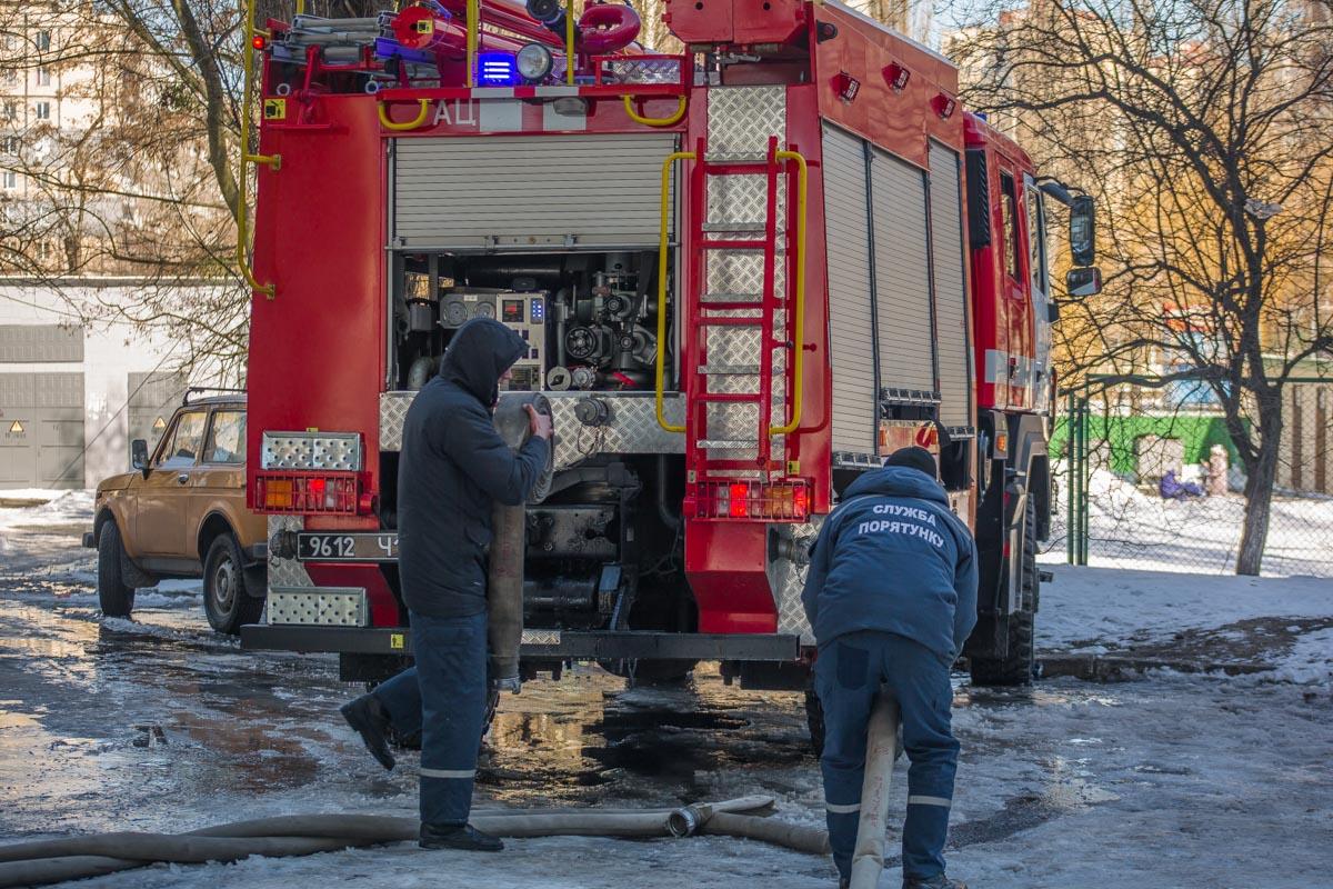 В 10:56 пожар на площади 20 квадратных метров был локализован, а в 11:06 -ликвидирован