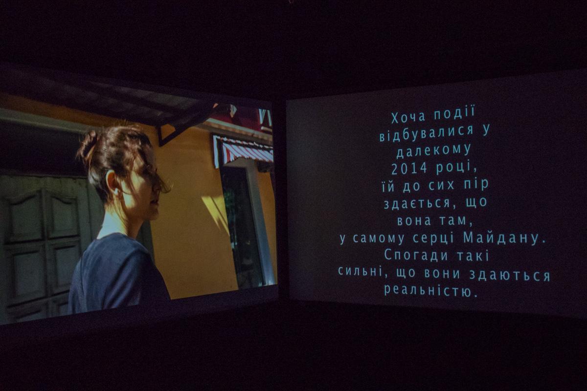 Также на выставке представлены видеоролики о Киеве