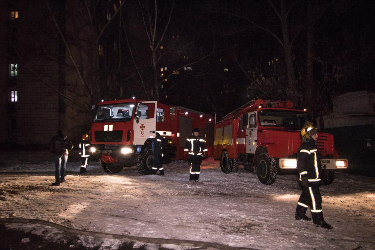 На улице Новоукраинской, 24 произошел пожар