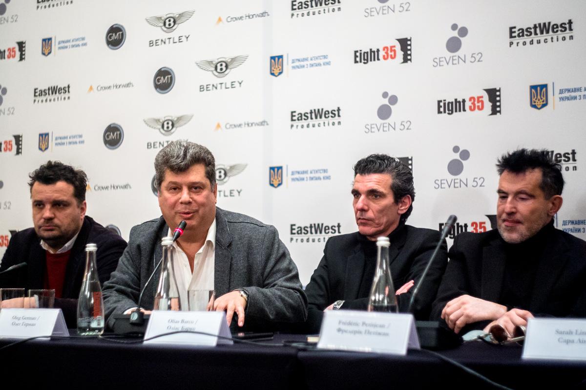 Сотрудничество со звездами мирового масштаба - это очередной этап развития украинской киноиндустрии, - рассказал Олег Герман