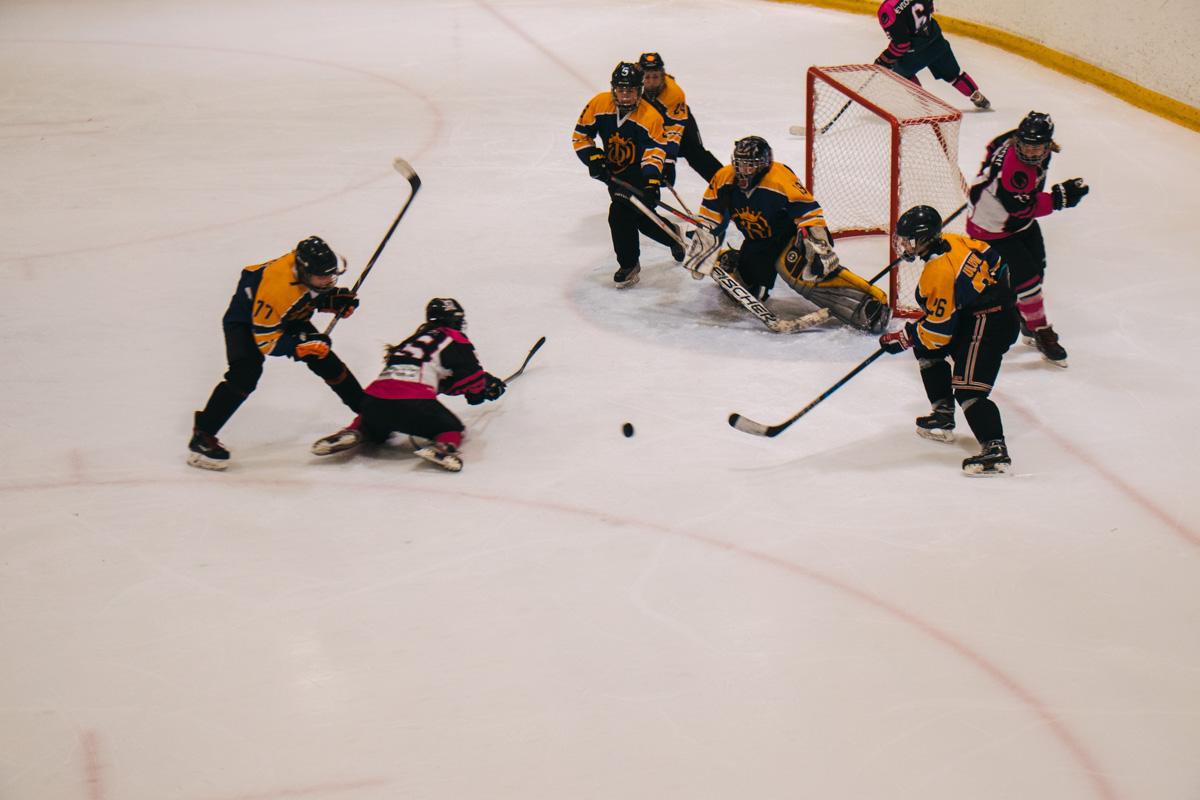 В Киеве прошел чемпионат Украины по хоккею среди женщин