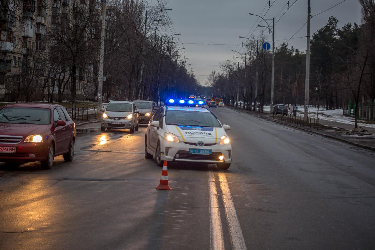 Вечером 15 марта на Лесном массиве произошло ДТП