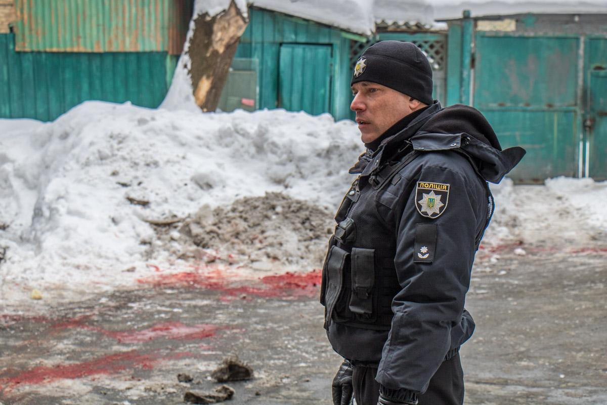 В центре Киева убили мужчину