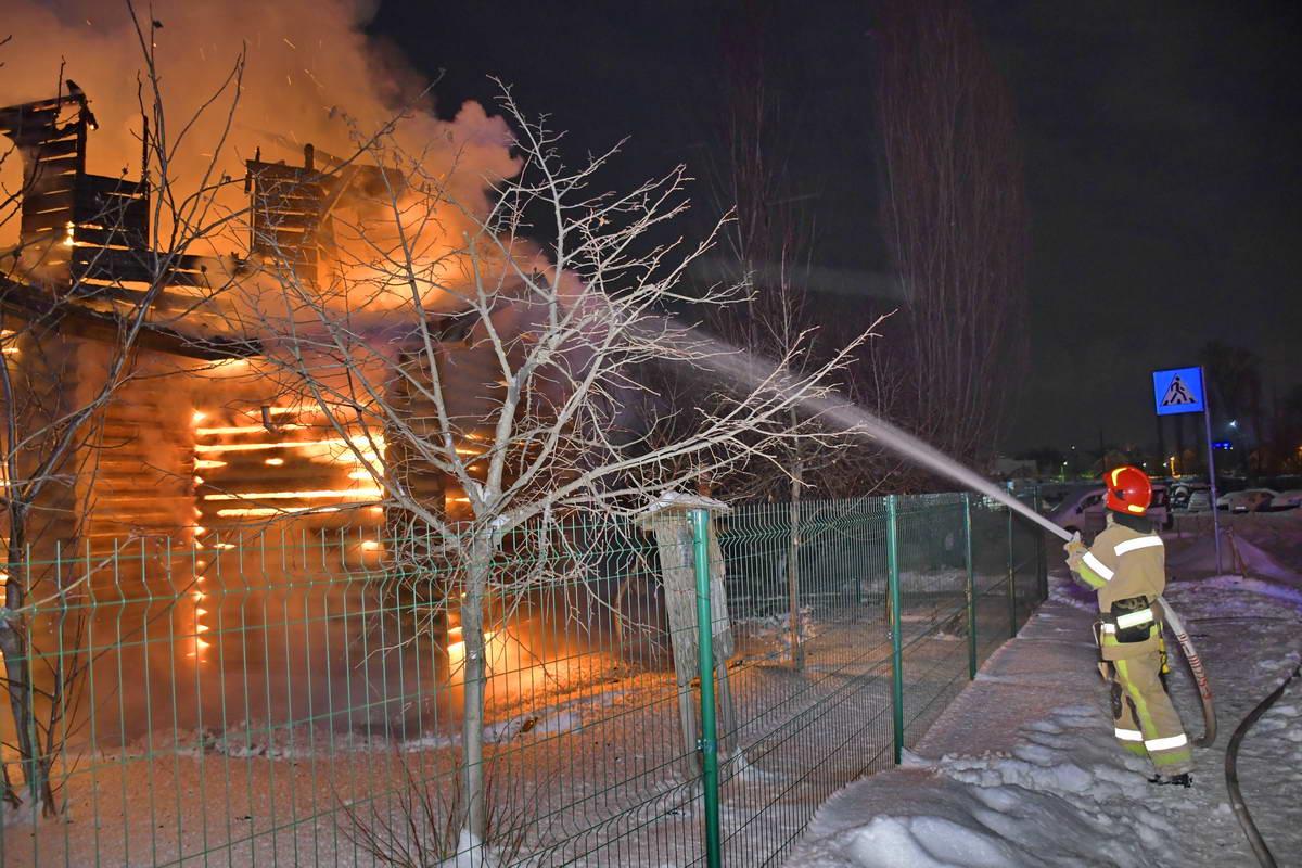 Храм в честь святителя Дмитрия митрополита Ростовского УПЦ КП сильно разрушен