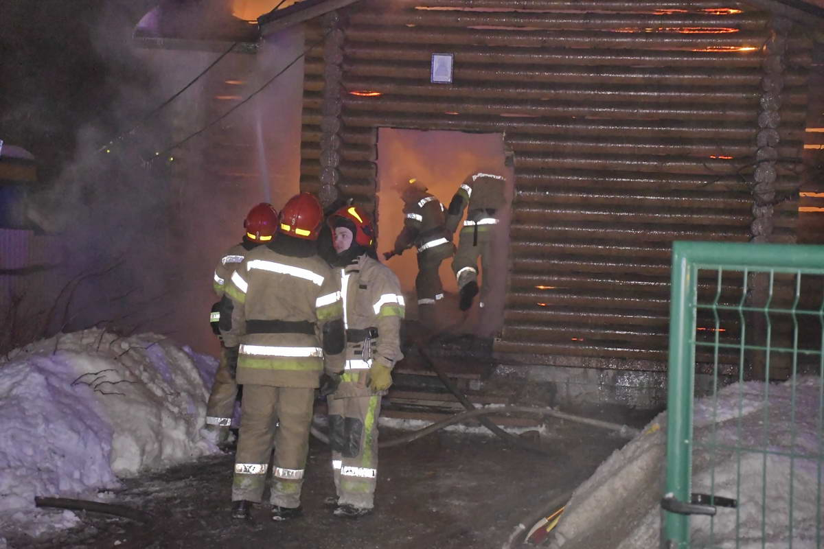 В пожаре никто не пострадал