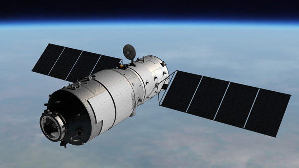 Китайская космическая станция «Тяньгун-1» через несколько дней упадет на Землю