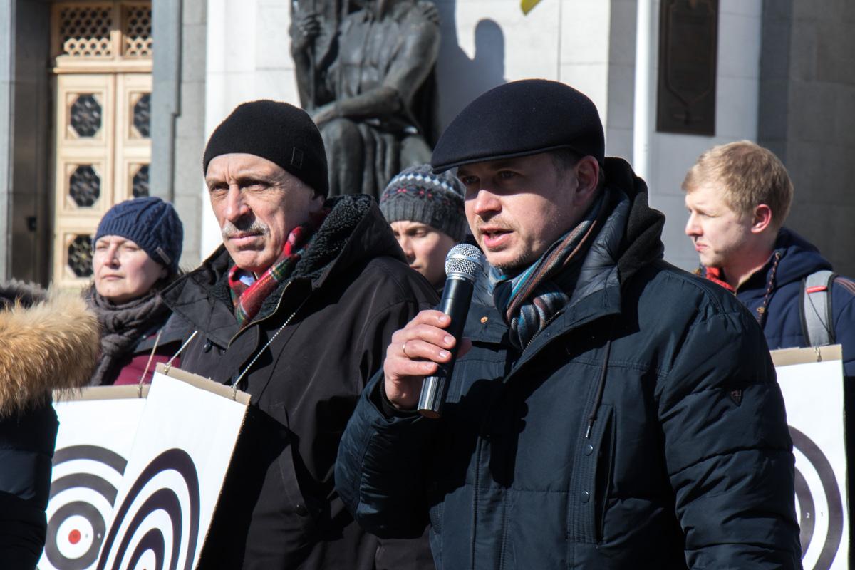 Александр Павличенко считает, что декларирование активистов - это нарушение прав человека