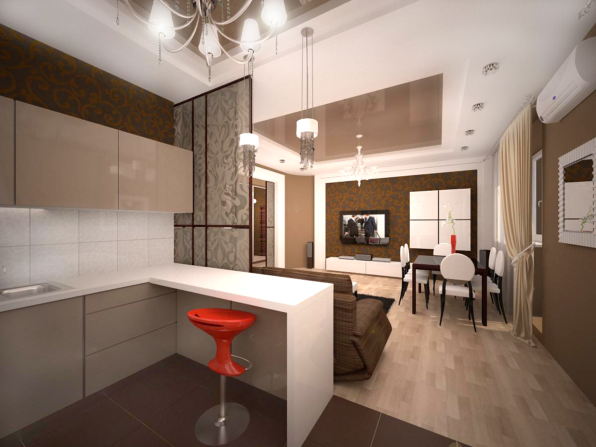 В новом доме стоимость «двушки» варьируется от 17 000 до 22 000 гривен