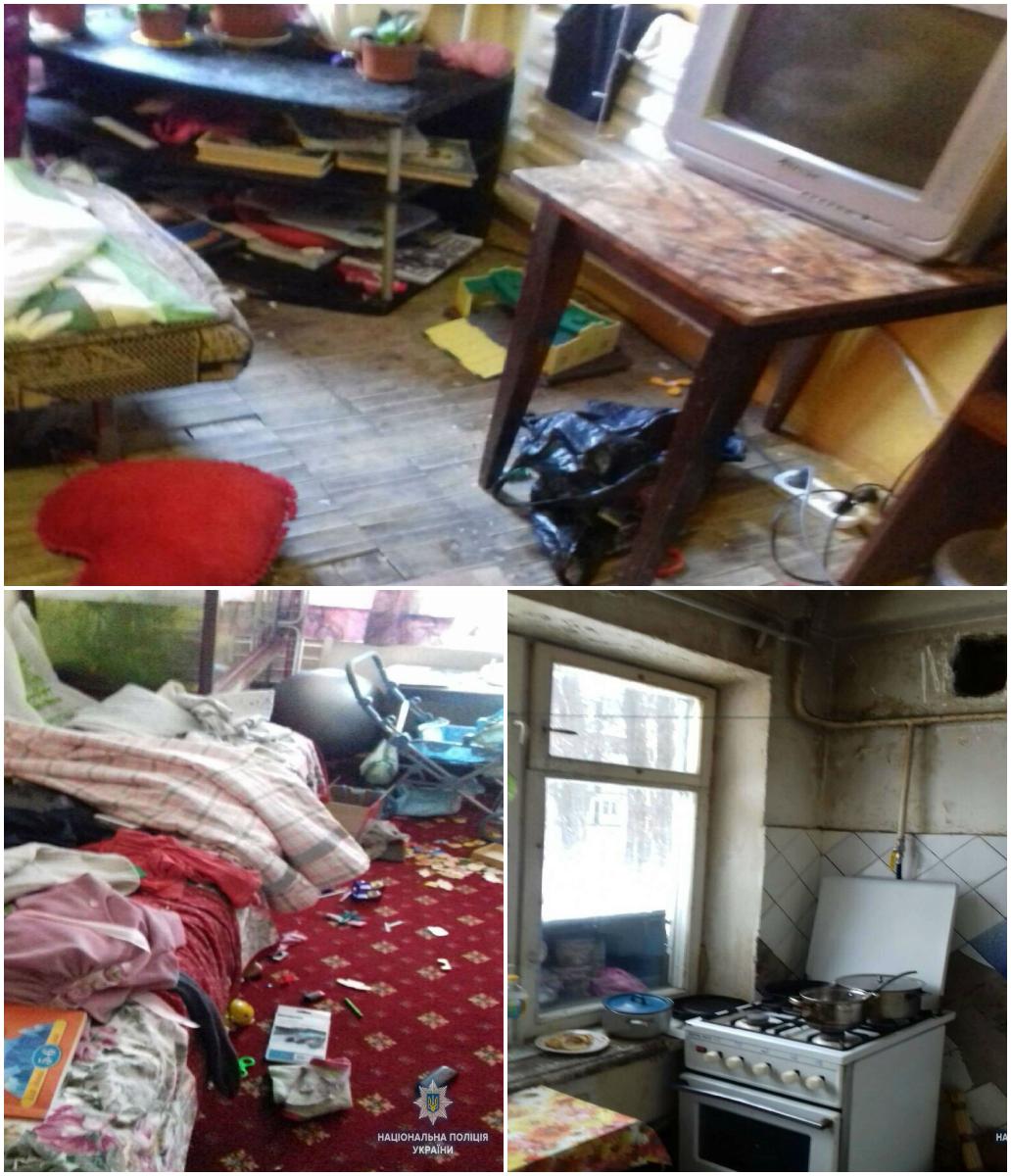 В Подольском районе трое малолетних детей жили в ужасных условиях