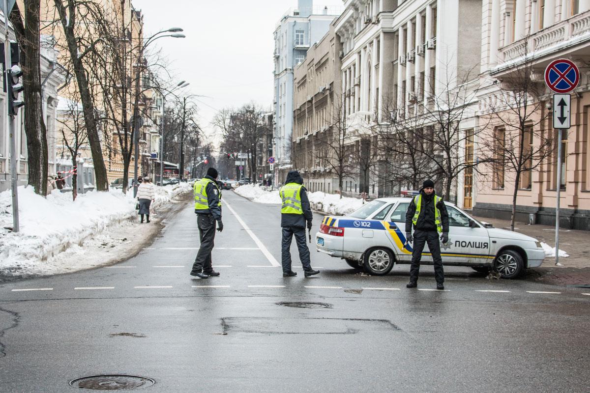 Движение по улице Шелковичной было ограничено