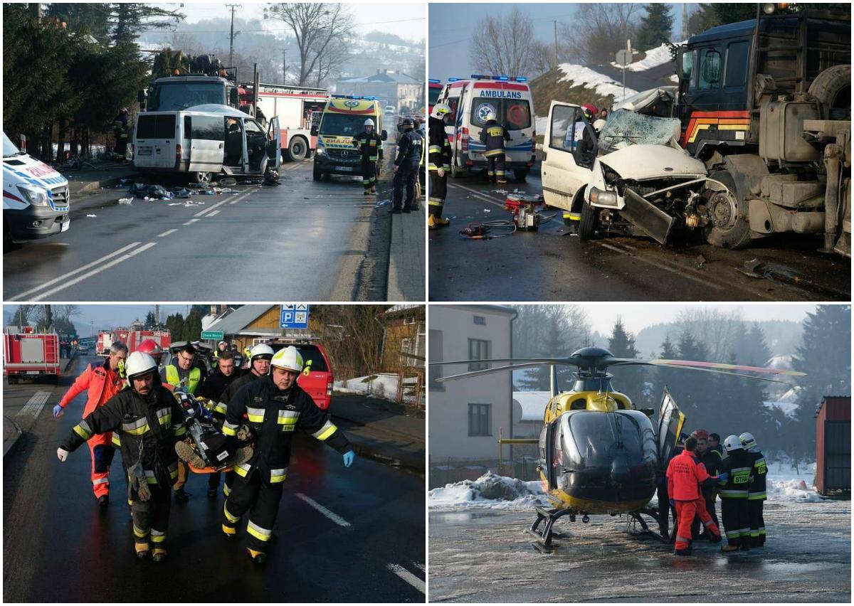 В жутком ДТП в Польше погибли двое украинцев, еще четверо госпитализированы