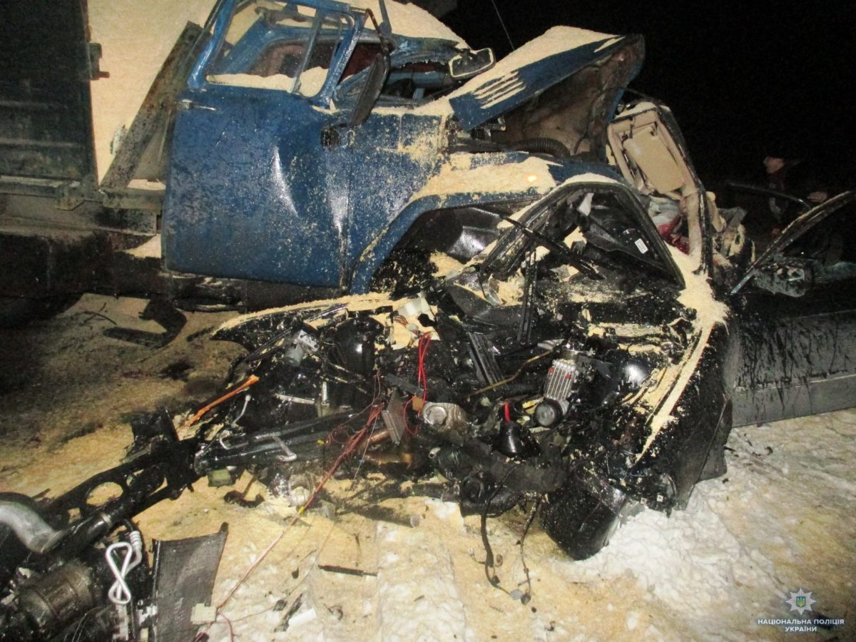 В ДТП на трассе Киева погибли четверо человек