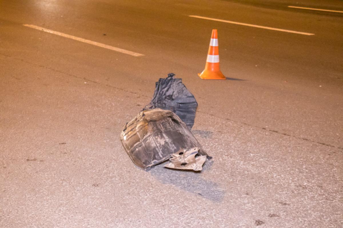 ДТП произошло на свободной дороги