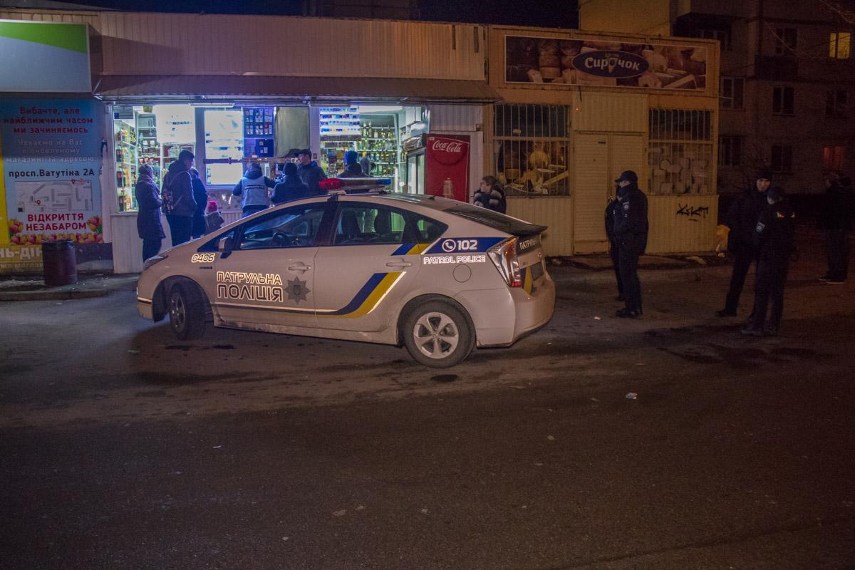 Огнестрелка в Киеве