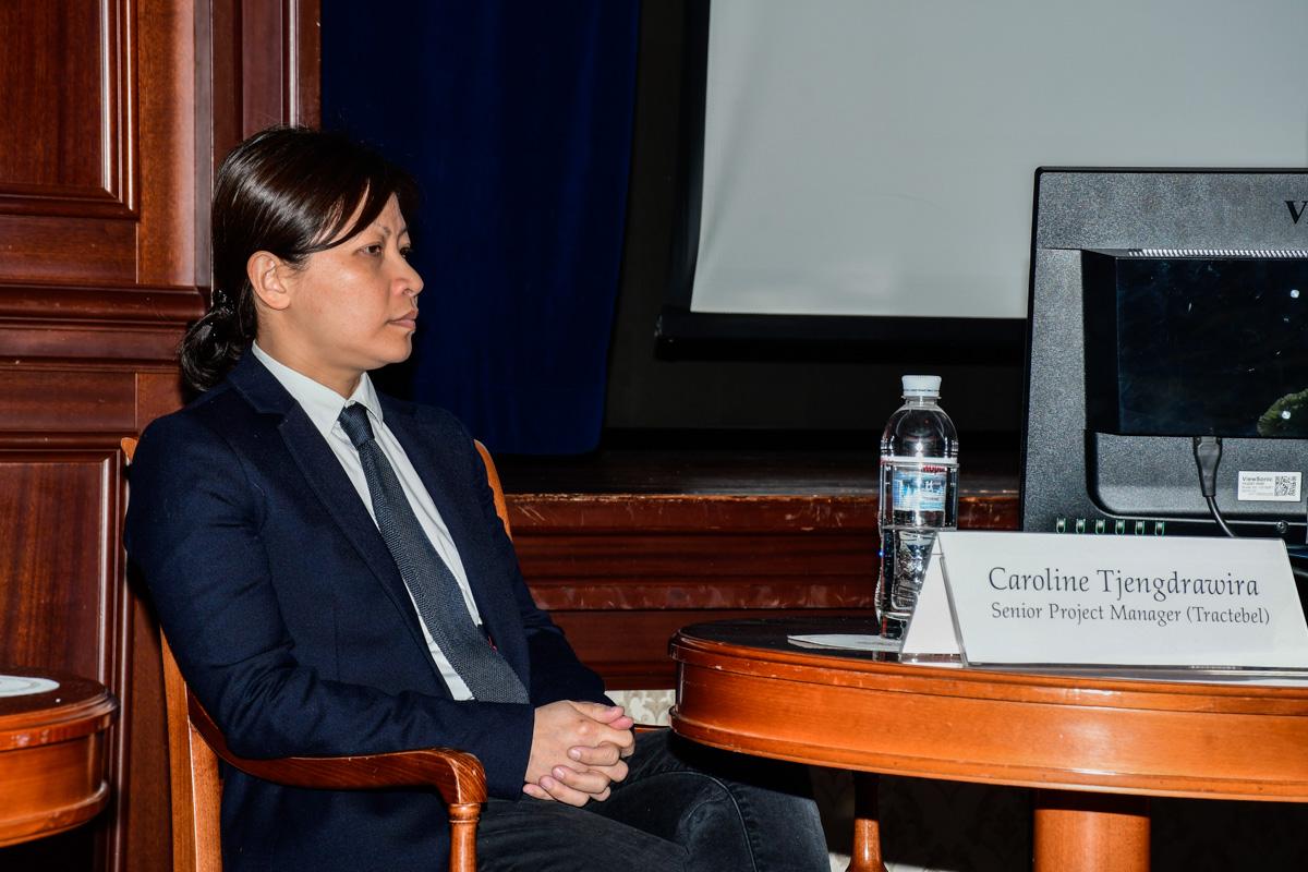 Руководитель проектов Tractebel France Caroline Tjengdrawira