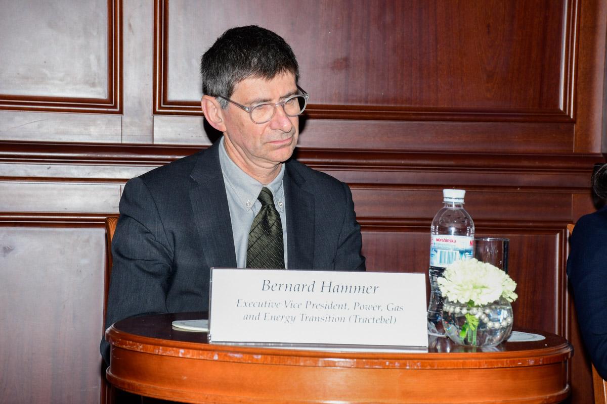 Вице-президент Tractebel France Бернард Хаммер