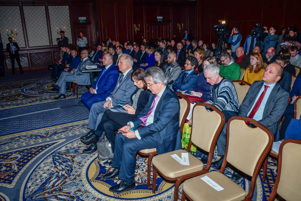 На презентации проекта среди гостей были чиновники, представители украинских и зарубежных медиа
