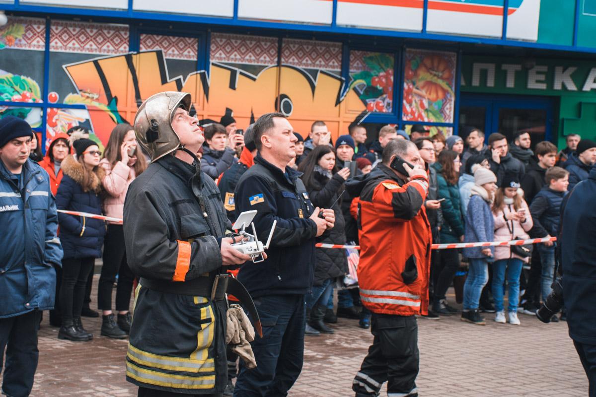 """В результате пожара в магазине """"Червоний маркет"""" никто не пострадал"""