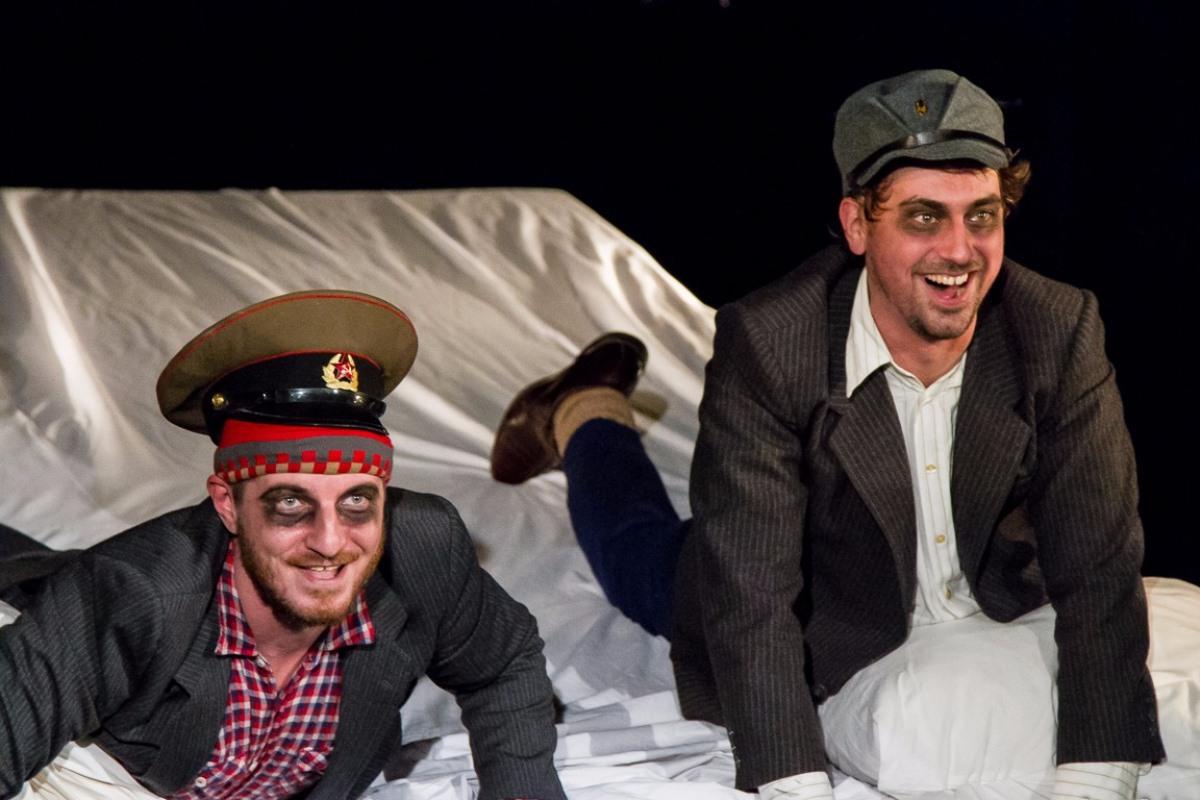 Спектакль по пьесе популярного молодого украинского драматурга