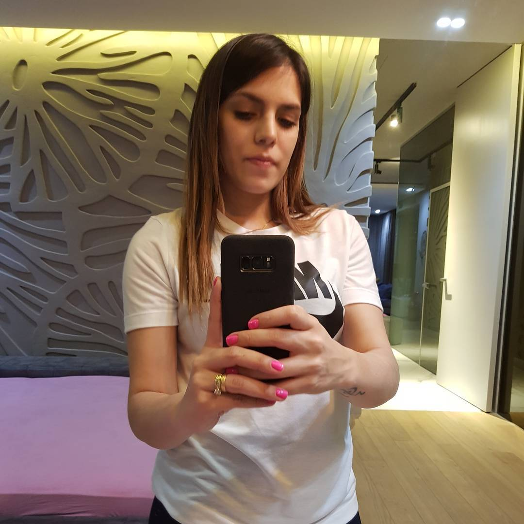 Жена парагвайского футболиста Гонсалеса