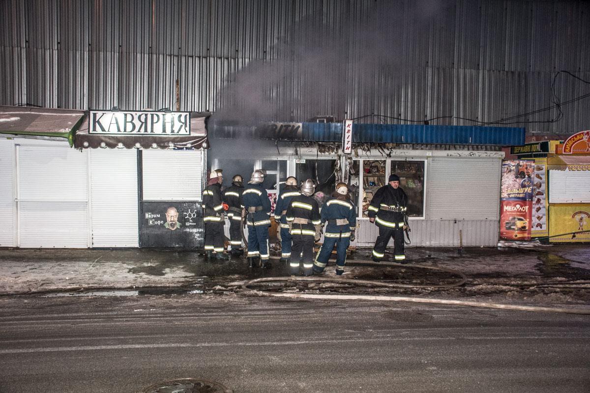 Сотрудники ГСЧС оперативно ликвидировали возгорание