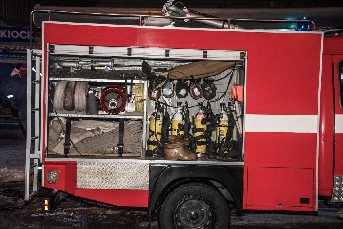 Пожарные всегда готовый прийти на помощь