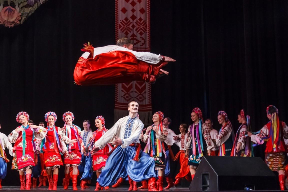 В Киеве выступит уникальный ансамбль танца имени Павла Вирского