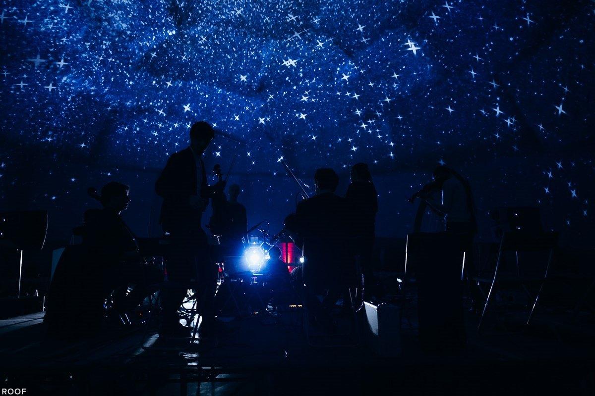 В Киеве можно послушать хорошую музыку на фоне звездного неба