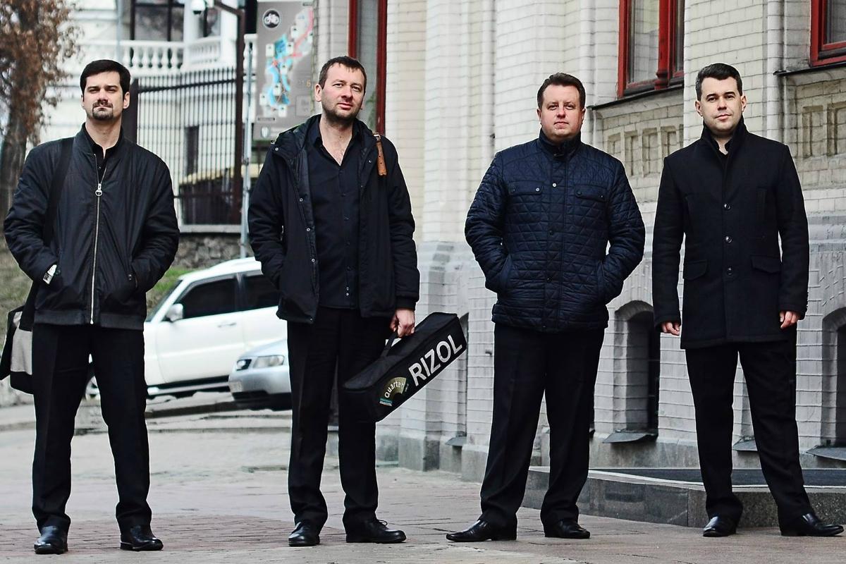 Квартет баянистов из Киева