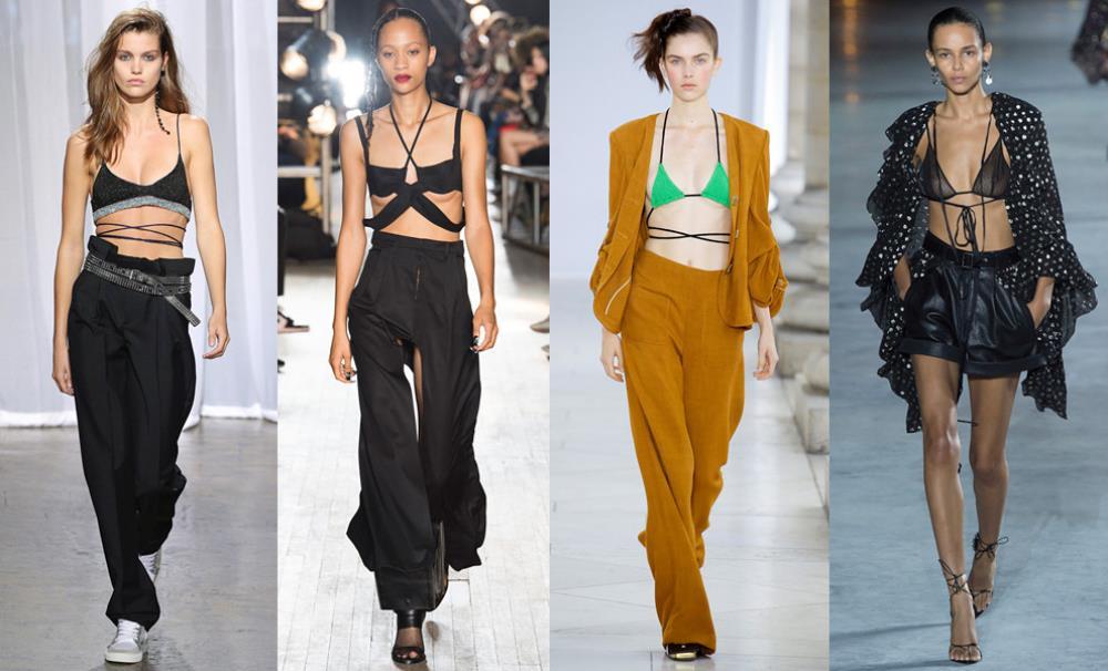 Дизайнеры советую показывать девушкам оригинальное нижнее белье